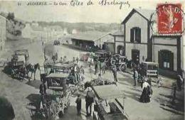 29 CPA AUDIERNE La Gare - Audierne