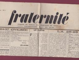 290716 - GADZARTS - Promotions 24 27 Et 25 28 Journal Presse FRATERNITE Août 1929 - Programmes