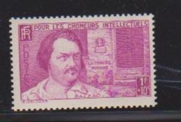 N 463 / 1 Franc + 10 Centimes Lilas / NEUF Avec Défaut De Gomme - Unused Stamps