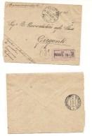 6549 RACCOMANDATA FRANCHIGIA SERVIZIO SCOLASTICO VASINNI POTENZA 1921 Cover Italy Storia Postale - 1900-44 Victor Emmanuel III