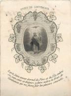 IMAGES RELIGIEUSES Fruit De Continence Retraite 1861 2 Scans - Santini