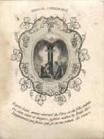 IMAGES RELIGIEUSES Fruit De Longanimité  Retraite 1861 2 Scans - Santini