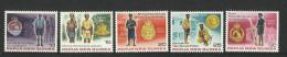 PAPUA NEW GUINEA 1978 ROYAL CONSTABULARY SET MNH - Papua New Guinea