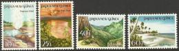 PAPUA NEW GUINEA 1985 TOURIST SCENES SET MNH - Papua-Neuguinea