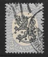 Finland, Scott # 137 Used Coat Of Arms, 1926 - Gebruikt