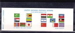 Flag Series Booklet 1987 - Sellos
