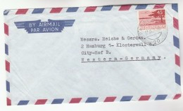 1971 Air Mail SURINAME Stamps COVER  To Germany - Surinam