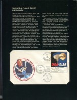 US Post Office 1983 Sts-8 Flight Cover Aboard The Challenger & Folder  J366 - Annate Complete