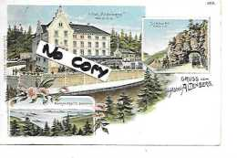 68 ALTENBERG HOTEL  GRUSS LITHO 1904 - Guebwiller