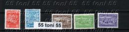 Bulgaria /Bulgarie 1940/41  Regularly Stamps 5v.- MNH - Nuevos