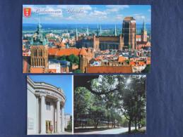 Postcards - Russia - Gdansk - Theatre - Bielorussia Belarus - Rusland