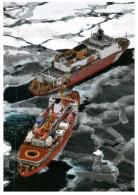 (1111) Ice Breaker Ship - Bateau Brise Glace - Schiffe