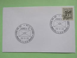 Belgium 1971 Special Cancel On Card - Lion - Philatelic Expo - Belgium