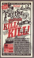Kill! Kill! Faster, Epitaph! Kill! Kill ! (CRAMPS/RANCID/PIETASTERS/HEPCAT Etc (1998, VHS) - Concert & Music