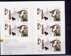 CANADA. 2014,#2726a, BK 580,  ROYAL MUSEUM Of ONTARIO  Booklet  MNH - Carnets Complets