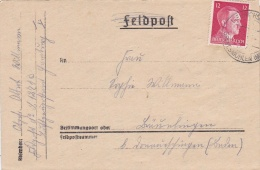"Feldpost WW2: Franked Cover From Camp De La Torpille / Pornichet In St. Nazaire, France (Stellung ""Nutria"") - 19. Kompan - Militaria"