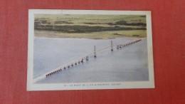 Quebec>   Bridge Le Pont De L'ile D'Orleans--------- Ref  2306 - Quebec