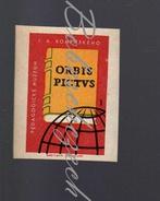 24-109 CZECHOSLOVAKIA 1964 Czech Museum Orbis Pictus National Pedagogical Museum And Library Of J. A.  Comenius Prague - Boites D'allumettes - Etiquettes