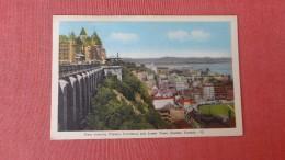 Has Stamp & Cancel------Quebec> Québec - Château Frontenac    Ref  2306 - Québec - Château Frontenac
