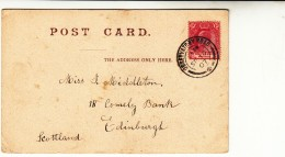 Cape Colony / Observatory Postcards / Railways - South Africa (1961-...)