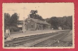 Ham-sur-Heure - La Gare Et Le Tunnel - 19?? ( Voir Verso ) - Ham-sur-Heure-Nalinnes