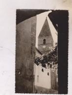 CPM PHOTO DPT 06 GUILLAUMES, LE CLOCHER En 1955!! - France