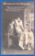 Fantaisie; Militaria; Soldatenliebe; Wenn Zwei Sich Sind Von Herzen Gut; Feldpost Rot Lazarett Regensburg 1916 - Heimat
