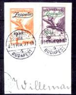 Ungheria-00061 - 1931: Posta Aerea, Y&T N. 24,25 (o) Used - Privo Di Difetti Occulti - Posta Aerea