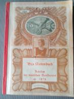 1984 - DAS NOTENBUCH KATALOG DER DEUTSCHEN BANKNOTEN AB 1874 MARK HOFFMANN DIETER - ALLEMAND - Catalogues