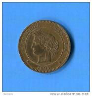 10 Cents  1895  A - France