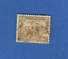 TUNISIE TIMBRES ANCIEN RF 20C  OBLITERE DOS CHARNIERE 2 SCANNE - Oblitérés