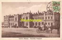 CPA ESTONIA ESTLAND TALLINN REVAL RAUDTEE PEAJAAM - Estonie