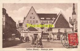 CPA  ESTLAND ESTONIA TALLINN REVAL RAEKOJA PLATS - Estonie