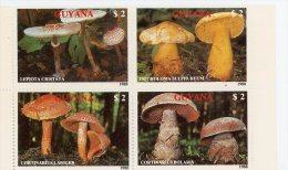 Guyane 1989-Champignons-YT 2077/80***MNH - Pilze