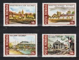 1993 -  Monuments Historiques Detruits Mi 4859/4862 Et Yv 4053/4056 MNH - 1948-.... Republiken