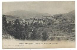 CPA -  BEUIL, A 79 Kil. DE NICE -  Alpes Maritimes 06 -  Edit. Robion, Tabac, Cliché J. Vuillaume - Circulé 1905 - France