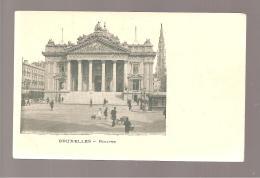Bruxelles La Bourse - Monuments, édifices
