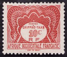 AOF 1947-  Taxe 1   -  NEUF* - Neufs