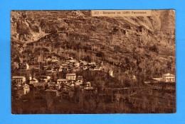 TORINO -  MARGONE - Panorama . Cartolina Colore Marron.  Vedi Descrizione - Unclassified