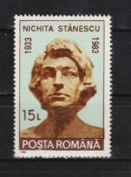 1993 -  Buste Du Poete Nichita Stanescu Mi 4872 Et Yv  4063 MNH - 1948-.... Republiken