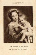 """IMAGE PIEUSE Reproduction """"La Vierge Et L'Enfant"""" Sassoferrato - Andachtsbilder"""