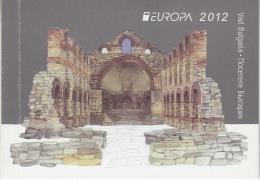 Europa Cept 2012 Bulgaria Booklet ** Mnh (27724) - 2012