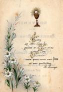 IMAGE PIEUSE Souvenir De Première Communion 1908 - Devotion Images
