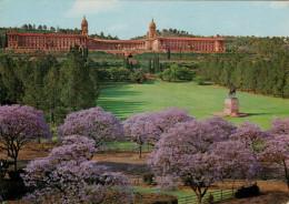 PRETORIA    UNION BUILDINGS  AT JACARANDA  TIME   (VIAGGIATA) - Sud Africa