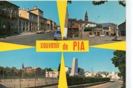 Pia.. Belle Multi-vues Animée Du Village Voitures - Frankrijk