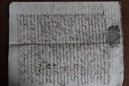 1721       -     CARCASSONNE         4 PAGES       4  PHOTOS - Cachets Généralité