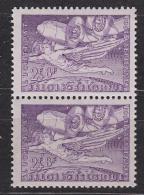 Belgie 1946 Luchtpost PA14 Vluchten H. Crombez Te Gent 1w Paar** Mnh (31401B) - Airmail