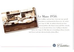 Klappkarte CADILLAC - Le Mans 1950 - 2000  (XXL-Card) - Transporter & LKW