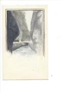 15039 - Petite Aquarelle Gorges De L'Aar  Berne  (format 12 X 7) - Aquarelles