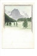 15044 - Petite Aquarelle  Rosenlaui Berne (format 13 X 9) - Aquarelles